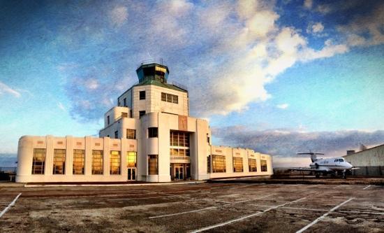 1940 Air Terminal Museum: 1940 Houston Municipal Airport