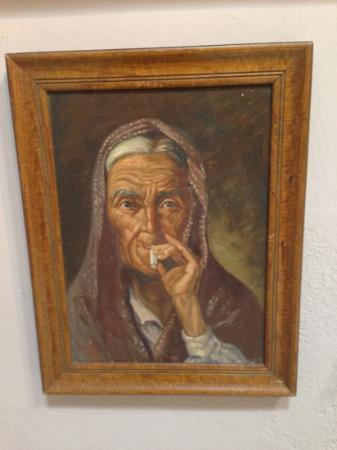 Museo del siglo XIX: Local Old Woman