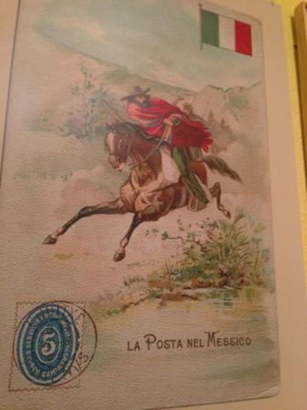 """Museo del siglo XIX: """"Mexican Postal Service"""""""
