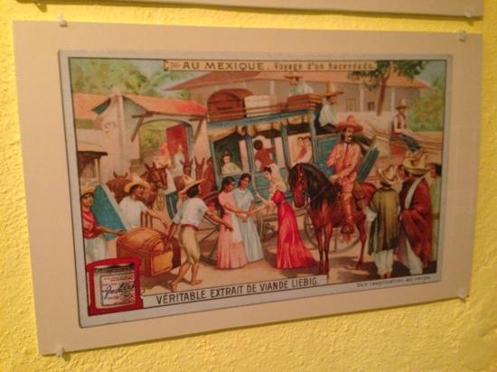 Museo del siglo XIX: 19th century Mexican street scene