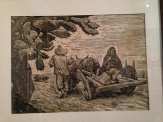Museo del siglo XIX: Bucolic Pre-Revolutionary scene