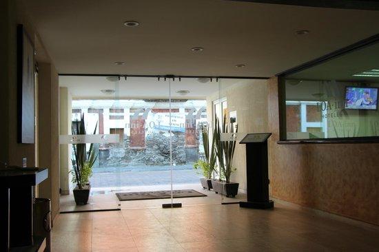Loa Inn Puebla: La entrada