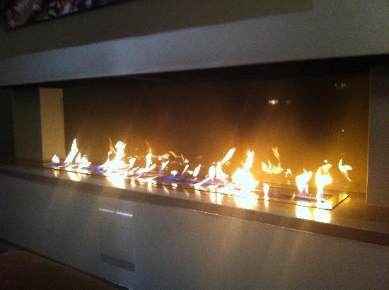 Hotell Jeloy Radio: Fireplace