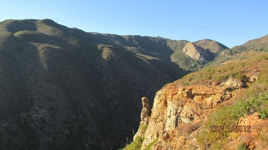 Solstice Canyon: From the top of the Canyon