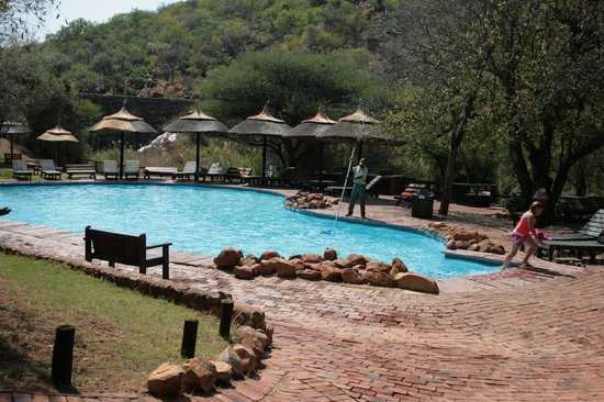 Bela Bela, South Africa: Cold Outdoor Pool