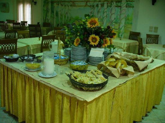 Family Spa Hotel Le Canne: ricca colazione