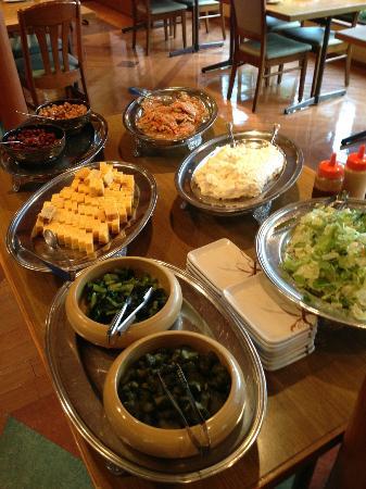 Hakonenomori Okada: semi-buffet breakfast