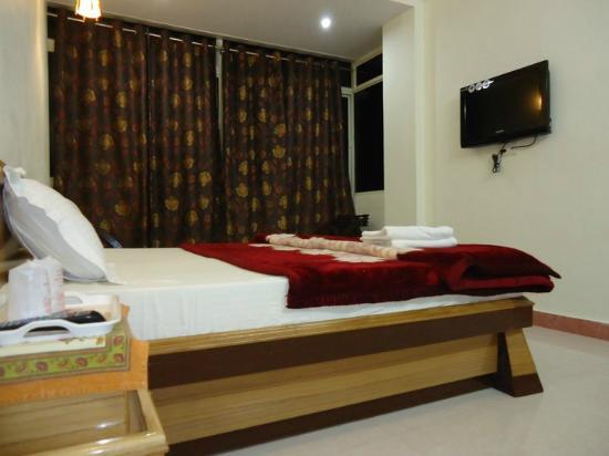 Hotel Ganesha Inn : s delux room