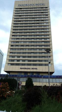 Panorama Hotel Prague : View of the hotel