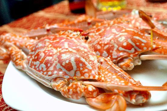 Nhat Phong 3 Restaurant: big crabs were streamed with beer