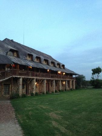The Farm Inn: L'un des lodges...