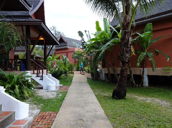 C&N Kho Khao Beach Resort: between the rooms/suites/bungalows