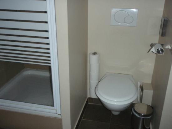 Cosy's Lille Vauban: Small bathroom in need of updating