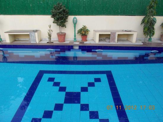 Madhu Pushp Bhawan: The pool
