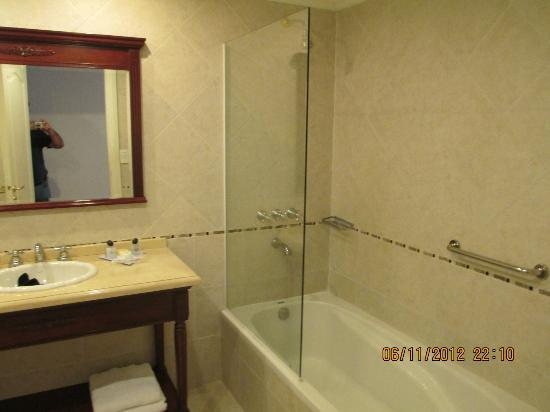 Scala Hotel Buenos Aires : Parte del bagno