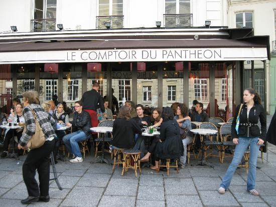 Le comptoir du pantheon paris quartier latin - Le comptoir paris restaurant reservations ...