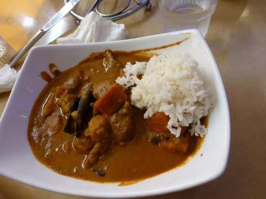 Blue Ginger: Malaysian curry