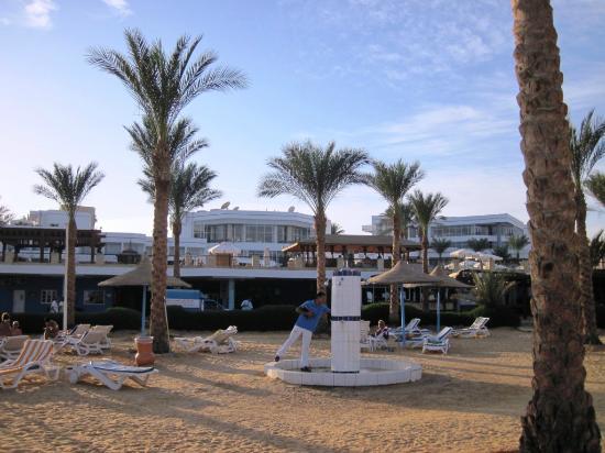 Queen Sharm Resort: Doccia in spiaggia (di 4 bocchette solo 1 andava, e male)