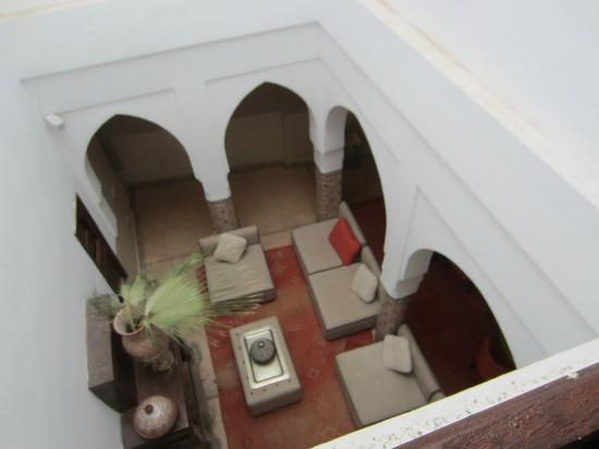 Riad Charai: Internal Court Yard