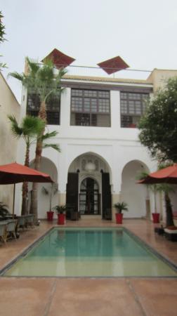 Riad Charai: Courtyard