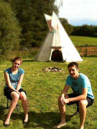 Mid Wales Tipis: Down by the lake