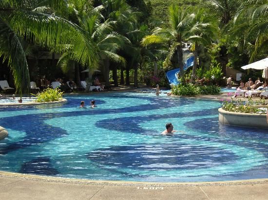 Siam Bayshore: good pool, there is another on the private beach across the road