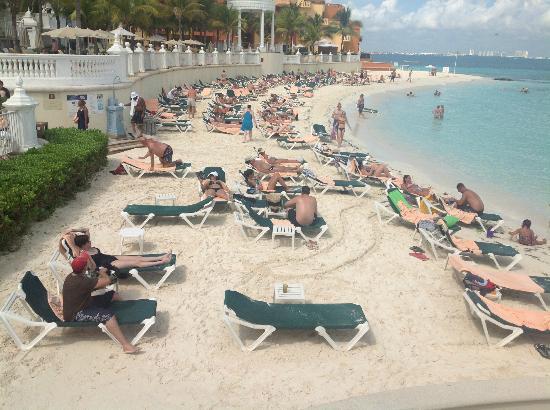 Hotel Riu Palace Las Americas: hermosa playa
