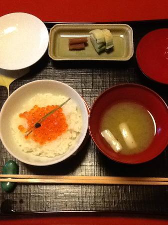 Kikunoi: ご飯