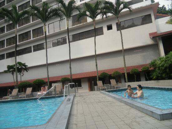 York Hotel: pool