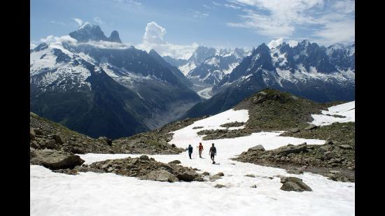 Chamonix Sport Aventure : 락블랑가는길..
