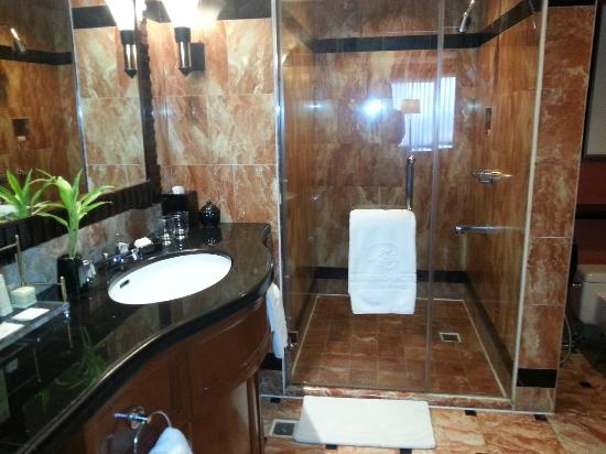 Diamond Hotel Philippines: guest bathroom