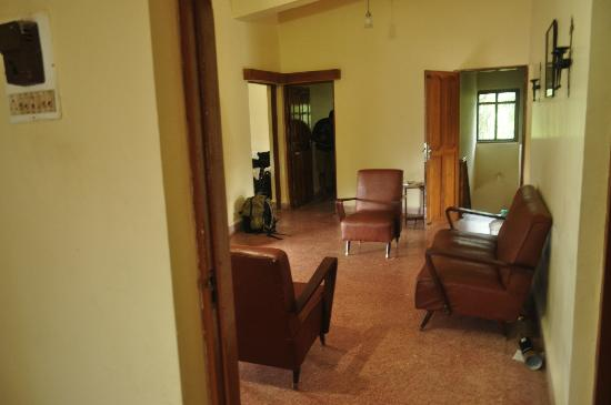 Ashirwaad Holiday Apartments: Sit out on the top floor at the 4BHK property in Colva