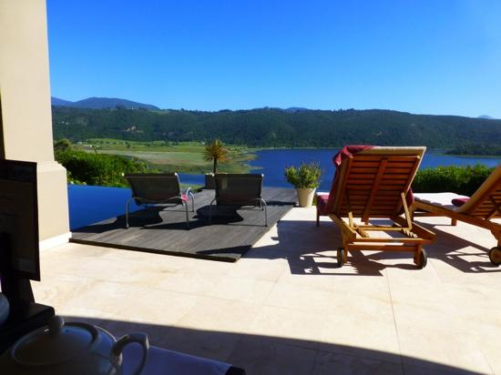 Lodge On The Lake & Wellness Spa: view from the terrace