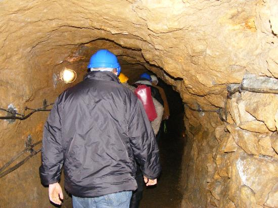 Historic Silver Mine: underground