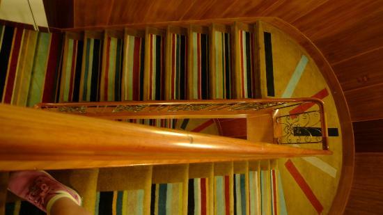 Hotel DeBrett: Staircases