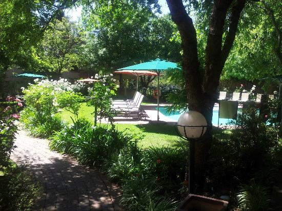 Protea Hotel Balalaika Sandton: One of the two pools