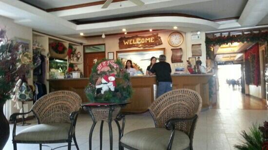 Subic Park Hotel: reception