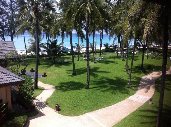 Katathani Phuket Beach Resort: View from our room