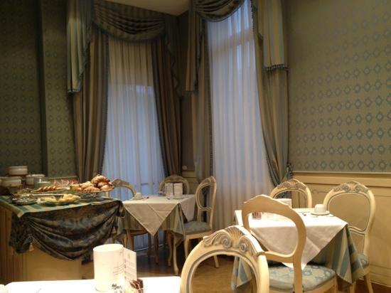 Villa Delle Palme: salle du petit dejeuner