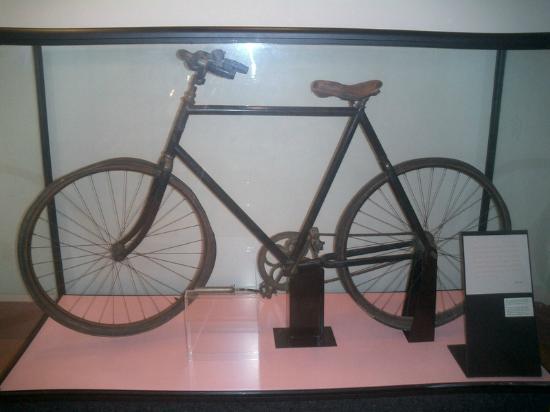 Paul Laurence Dunbar House: The Bicycle...