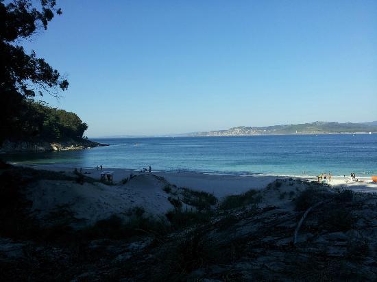 Playa de Rodas: Vista de una playa
