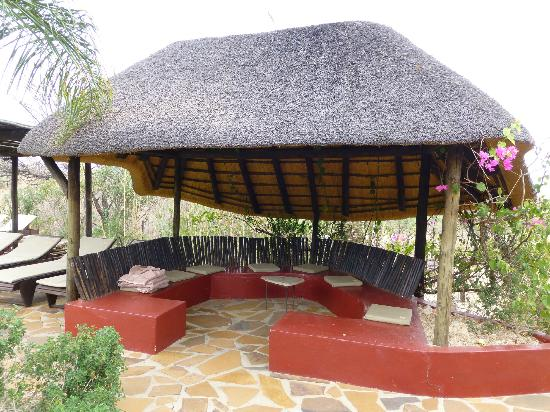 Immanuel Wilderness Lodge: Poolbereich
