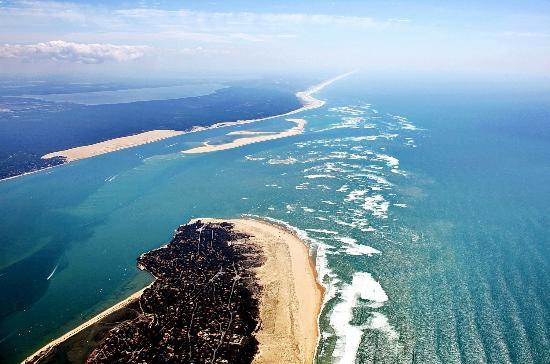 Pointe Du Cap Ferret Dune Du Pilat Et Réserve Naturelle Du Banc D