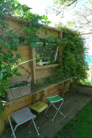 The Boatshed: Garden view