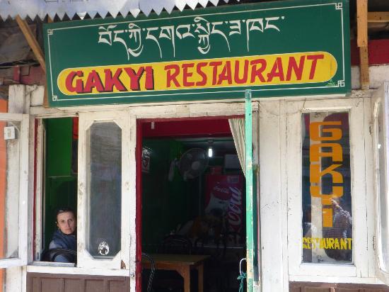 Gakyi Restaurant: Das kleine Gakyi bietet großartiges Essen.