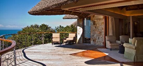 Oceana Beach and Wildlife Reserve : Ocean Suite Deck