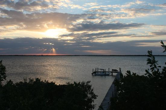Big Pine Key Boat Rentals: Big Pine Key Boat Rental boat - at dock with sunset