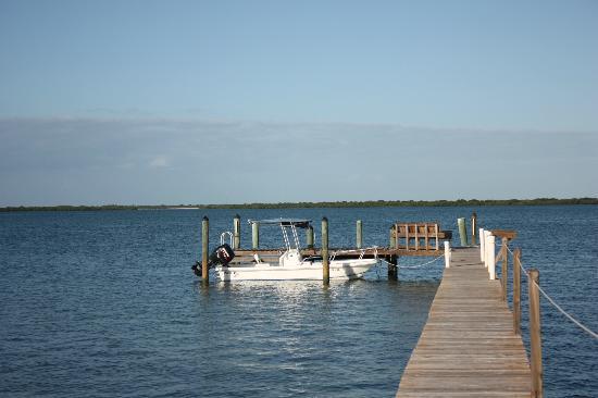 Big Pine Key Boat Rentals: Big Pine Key Boat Rental boat - at dock