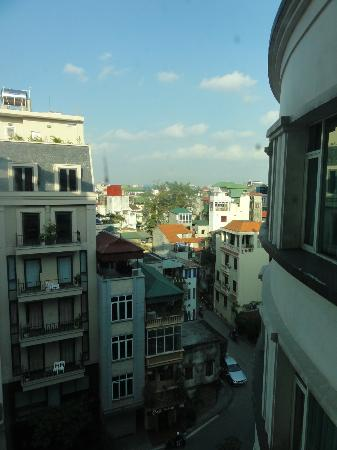 The Hanoi Club Hotel & Lake Palais Residences: view from our room