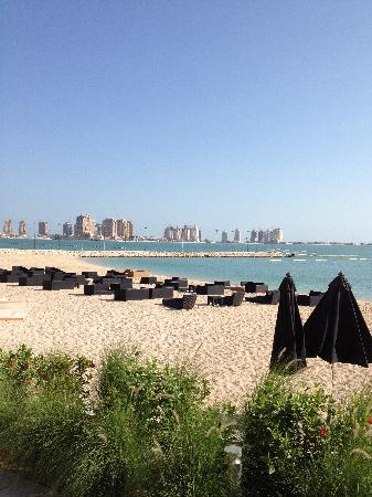 The St. Regis Doha: Beach view